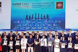 Bảo Việt tiếp tục khẳng định vị thế tại TOP 40 thương hiệu giá trị nhất Việt Nam năm 2018