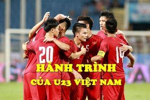Nhìn lại hành trình lịch sử vào tới trận tranh HCĐ ASIAD 2018 của U23 Việt Nam