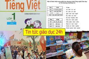 Tin tức giáo dục 24h: Bộ GDĐT không khuyến khích sách dùng một lần; Giáo viên tranh cãi cách đánh vần 'lạ'