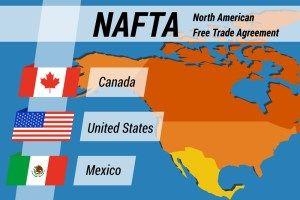 NAFTA đạt bước tiến tích cực