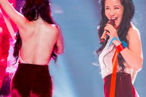 Sau chia tay chồng Tây, Hồng Nhung U50 gây choáng vì quá sexy