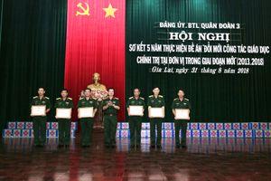 Quân đoàn 3 sơ kết 5 năm thực hiện Đề án 'Đổi mới công tác giáo dục chính trị tại đơn vị trong giai đoạn mới'