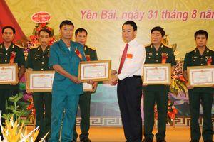 Đại hội Thi đua quyết thắng LLVT tỉnh Yên Bái giai đoạn 2013-2018