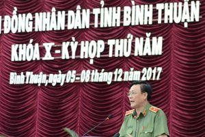 Thiếu tướng Nguyễn Văn Thân, giám đốc Công an Bình Thuận, nghỉ hưu từ 1.9