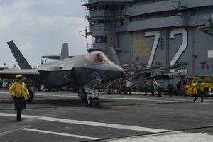 Chiến đấu cơ F-35C đạt cột mốc mới