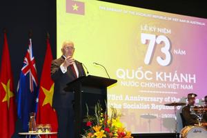 Lần đầu tiên Toàn quyền Australia dự kỷ niệm Quốc khánh Việt Nam