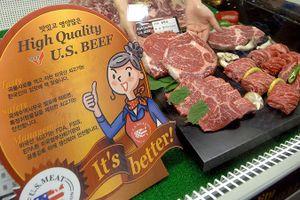 Hàn Quốc tăng cường kiểm tra thịt bò Mỹ sau vụ 'bò điên'