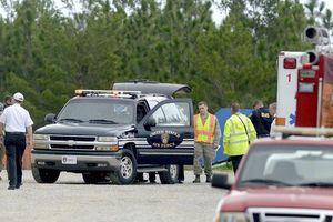 Máy bay rơi trúng căn cứ không quân Mỹ, 4 người tử nạn