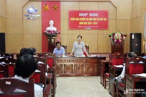 Nhiều vấn đề 'nóng' được đặt ra tại buổi họp báo của Sở Giáo dục và Đào tạo