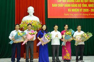 Bế giảng lớp bồi dưỡng cán bộ quy hoạch ủy viên Ban Chấp hành Đảng bộ tỉnh