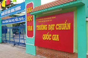 Vụ hiệu trưởng xây bếp ăn ở Sóc Trăng: 4/5 phiếu đòi cách chức