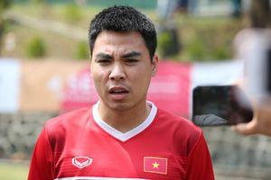 Đức Huy: 'Chúng tôi đã vượt qua nỗi buồn thua Hàn Quốc, quyết giành HCĐ trước UAE'