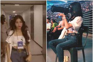 Hòa Minzy mạo danh nhân viên lao vào hậu trường chụp ảnh BTS khiến fan toàn thế giới bùng cơn phẫn nộ