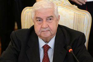 Ngoại trưởng Syria nêu lý do Damascus không có vũ khí hóa học