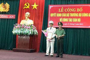 Tướng Vũ Xuân Viên được bổ nhiệm làm Giám đốc Công an TP.Đà Nẵng