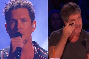 Giám khảo Simon Cowell bật khóc khi nghe Michael Ketterer hát tại American's Got Talents