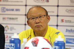 HLV Park Hang-seo phát biểu gì trước trận đấu với Olympic UAE?