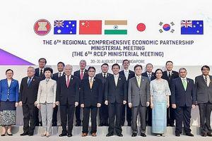 Hội nghị Bộ trưởng RCEP lần thứ 6: Đẩy nhanh tiến trình đàm phán RCEP