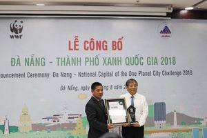 Đà Nẵng đạt danh hiệu 'Thành phố xanh quốc gia năm 2018'