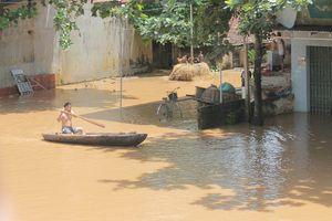 Đồng chí Phó Bí thư Thường trực Tỉnh ủy Đỗ Trọng Hưng kiểm tra, chỉ đạo công tác phòng chống lũ lụt tại 2 huyện Thạch Thành, Cẩm Thủy