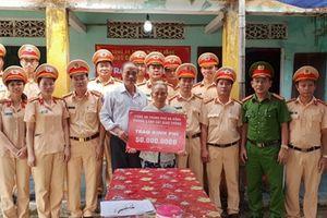 CSGT Đà Nẵng bàn giao nhà tình nghĩa cho gia đình chính sách