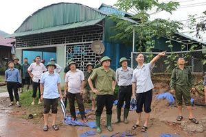 Điện Biên thiệt hại khoảng 35 tỷ đồng do mưa lũ