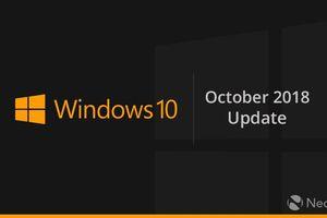 Bản cập nhật Windows 10 lớn tiếp theo đến vào tháng 10