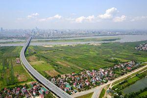 Giá đất trục Nhật Tân – Nội Bài: Tăng mạnh nhờ dự án tỷ đô