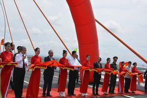 Chính thức thông xe cao tốc Hạ Long-Hải Phòng, cầu Bạch Đằng