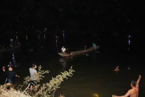 Tắm sông, 4 anh em họ tử vong và mất tích