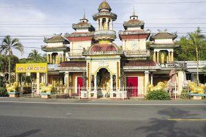 Những điều chưa biết về ngôi cổ tự đặc biệt vùng châu thổ sông Mekong