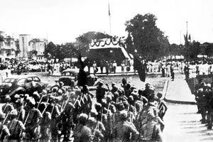 Xây dựng bộ đội chủ lực trong lực lượng vũ trang những ngày đầu độc lập