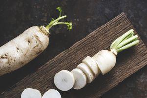 Ngừa bệnh tim nhờ củ cải trắng