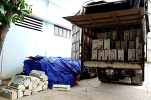 Quảng Bình: Bắt lô hàng trị giá gần nửa tỷ đồng, không rõ nguồn gốc
