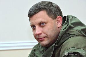 Người đứng đầu nước Cộng hòa tự xưng Donetsk, Zakharchenko bị ám sát?