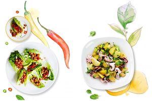 2 món salad thơm cay ngon tuyệt