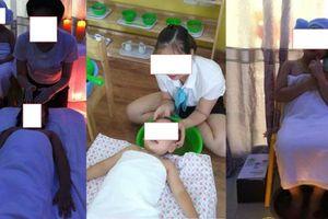 Trường Mầm non Kim Đồng mở dịch vụ mát xa cho các bé gây tranh cãi