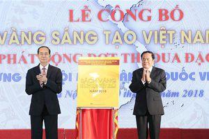 Sách vàng sáng tạo Việt Nam năm 2018 và văn hóa sáng tạo của dân tộc
