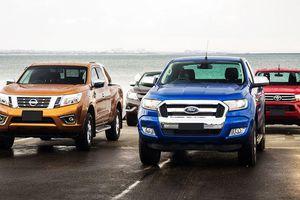 Đề xuất tăng lệ phí trước bạ gấp 3-4,5 lần với ôtô bán tải dưới 1,5 tấn