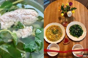 Vườn nhỏ xinh, vợ Việt muối dưa nấu canh mồng tơi ở châu Âu