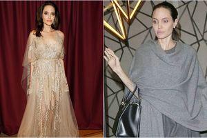 Chỉ uống nước đá để sống, nữ diễn viên Angelina Jolie gây xót xa với 'bộ xương khô' 34kg