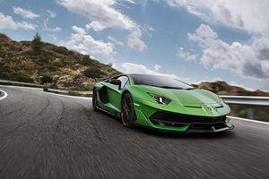 Lamborghini Aventador SVJ, anh cả tốc độ