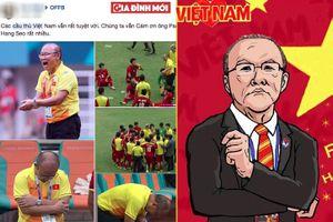 Dù thua, hàng triệu trái tim vẫn gửi lời cảm ơn Olympic Việt Nam và ông Park Hang Seo