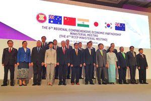 Các bộ trưởng ASEAN đặt mục tiêu kết thúc đàm phán RCEP trong năm nay