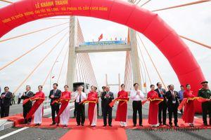 Sáng nay (1/9), Thủ tướng cắt băng khánh thành cao tốc Hạ Long - Hải Phòng