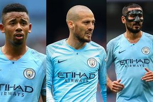 Đội hình 'siêu tấn công' của Man City trước Newcastle