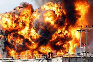 Nổ tại nhà máy lọc dầu ở Đức làm 8 người bị thương