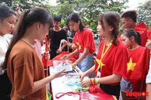 Nhuộm đỏ Mỹ Đình chờ các cầu thủ Olympic Việt Nam