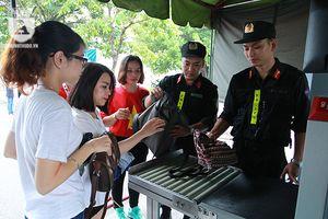Sẵn sàng các vị trí đảm bảo an ninh trật tự Lễ Vinh danh Đoàn thể thao Việt Nam