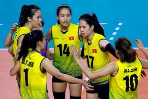 Bóng chuyền nữ Việt Nam xếp hạng 6 tại ASIAD